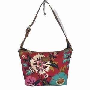 Spartina 449 floral shoulder bag